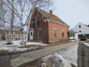 219 Main Street, Lovell.  The new home of Kezar Realty.