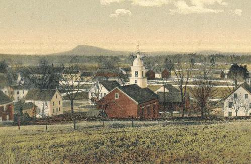 Lovell Brick Church Historical Photo