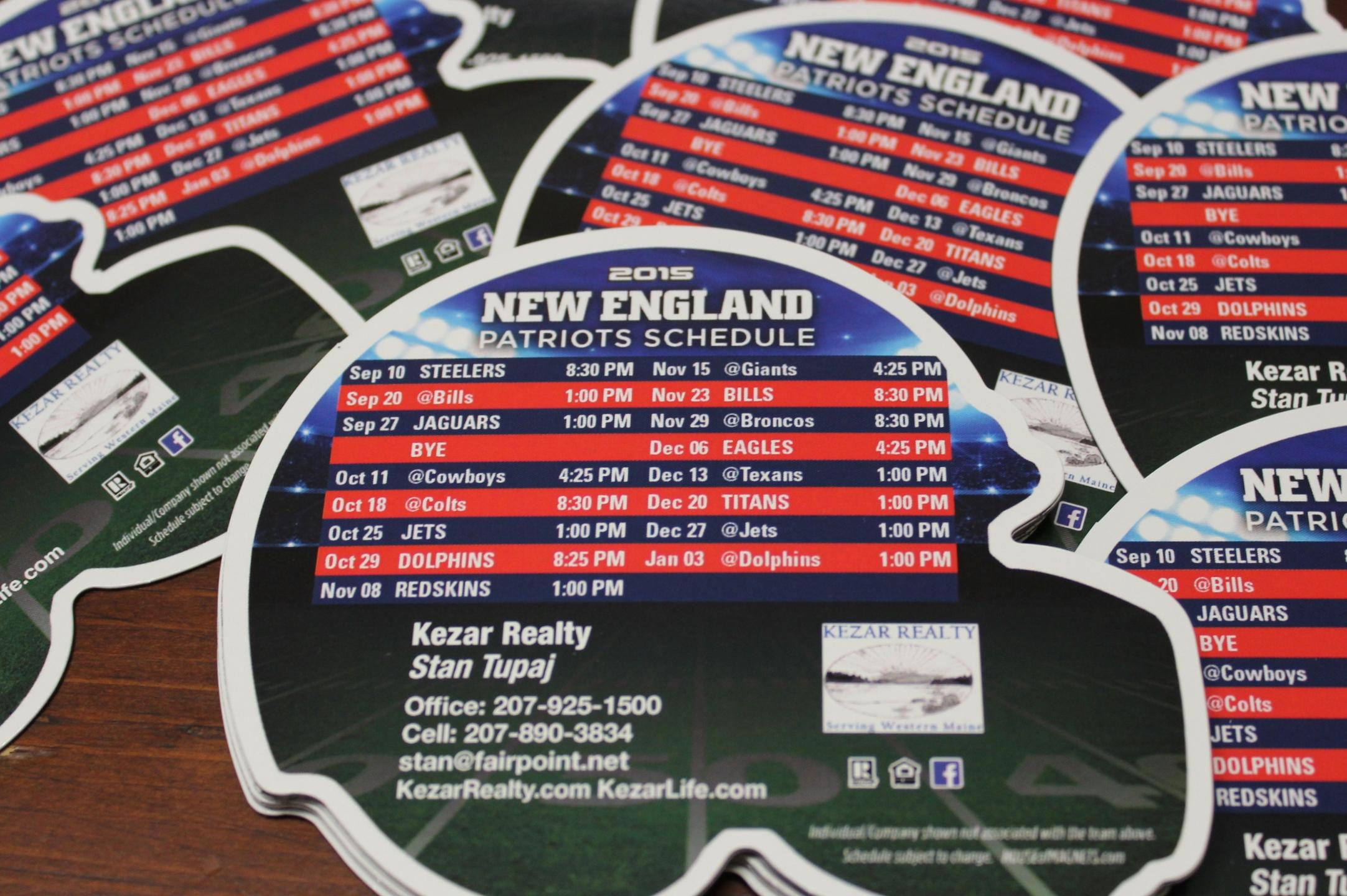 2015 new england patriots schedule magnets kezarlife s blog
