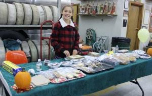 Sadie Mae Fowler did a GREAT job organizing the Bake Sale
