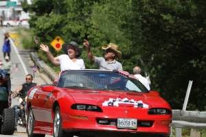 Parade Grand Marshals, Ed and Linda Dunlea